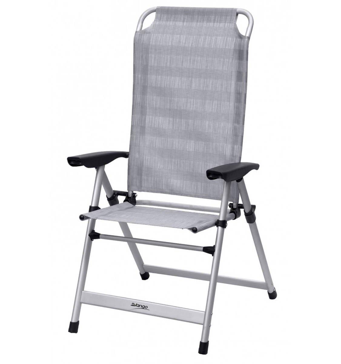 Vango Windsor hoch Stuhl aus Aluminium Aluminium