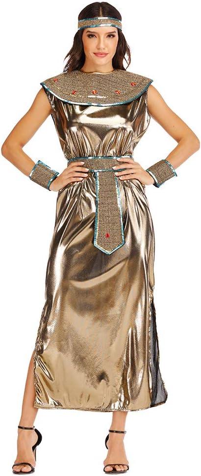 EraSpooky Disfraz de Diosa Egipcia del Antiguo Egipto para Mujer ...