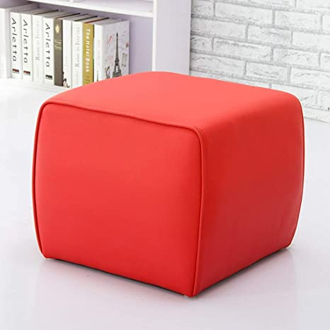 Fine Amazon Com Leather Ottoman Sofa Stool Footstool Change Shoe Machost Co Dining Chair Design Ideas Machostcouk