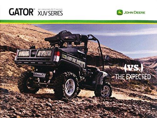 2011 John Deere Gator ATV Dealer 20-page Original Sales Brochure Catalog RSX850i