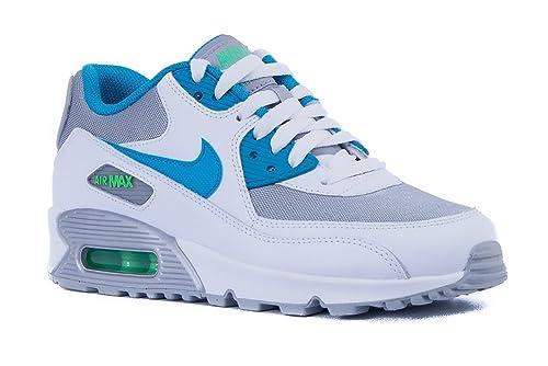 Nike Air MAX 90 Mesh (GS), Zapatillas de Running para Niñas