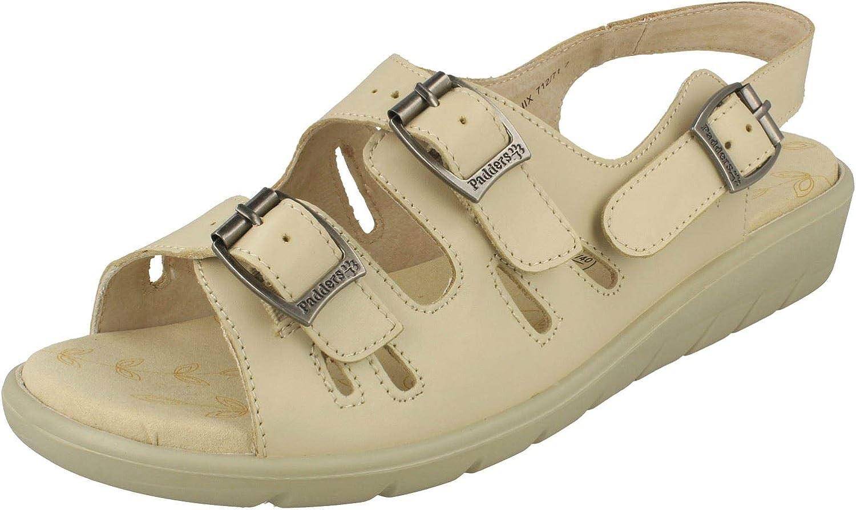 Ladies Padders Wide Fitting Sandals