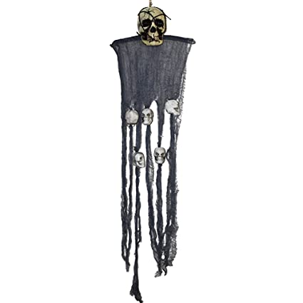 Amazoncom Tinksky Scary Hanging Skull Ornament Hanging Grim Reaper