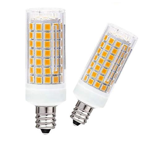 E11 Led Bulb Dimmable Replace 75w 100w Halogen Bulb Warm White 3000k Mini Candelabra Base Bulb T4 E11 8w 110v 120v 130v Chandelier Bulb Ceiling