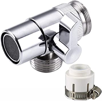 universal home faucet adapter diverter