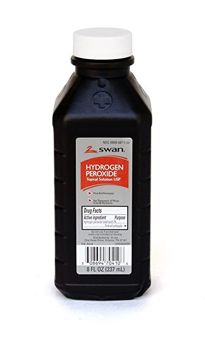 Medique Products 25708 Hydrogen Peroxide Bottle