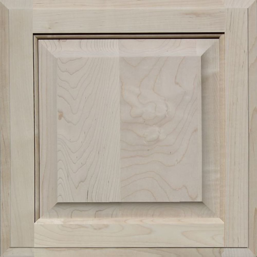 Unfinished Maple Cabinet Door, Square with Raised Panel by Kendor, 15H x 15W Kendor Wood Inc.