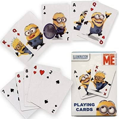 Despicable ME Playing Cards by Illumination Entertainment: Toys & Games