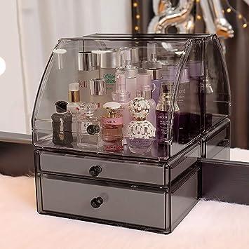 Amazon.com: Caja de almacenamiento para cosméticos, cajón a ...