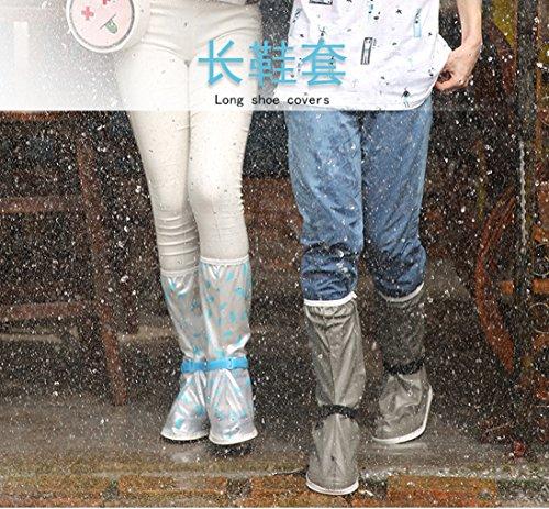 Überschuhe Wasserdicht Fahrrad Radsportschuhe für Regenschuhe Outdoor Schuhhülle Regen Rutschfester Überziehschuhe Meiion Blau Unisex Überschuhe Schutzschuhe OZdAwn1q