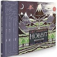 J.R.R. Tolkienden Hobbit Resimleri Kutulu Özel Baskı
