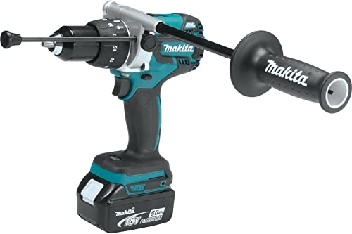 Makita XT267T 18V LXT Lithium-Ion Brushless Cordless 2-Pc. Combo Kit 5.0Ah ,