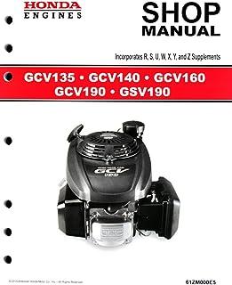 amazon com honda gx120 gx160 gx200 engine service repair shop rh amazon com Haynes Manual Pictures Back Lawn Boy 10323 Manual