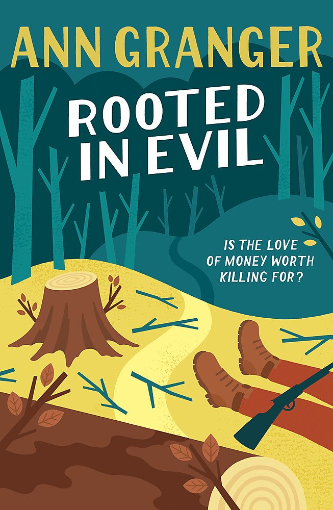 Read Online Rooted in Evil (Campbell & Carter Mystery 5): A cosy Cotswold whodunit of greed and murder PDF