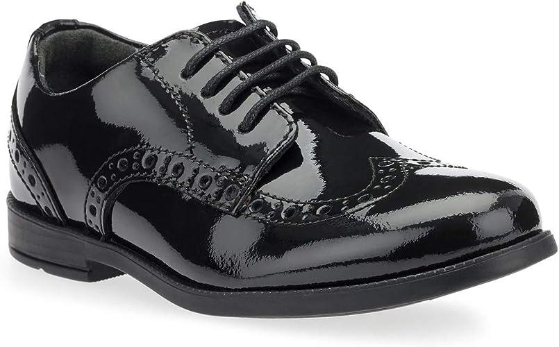 School Shoes Junior 5.5 F Black Patent