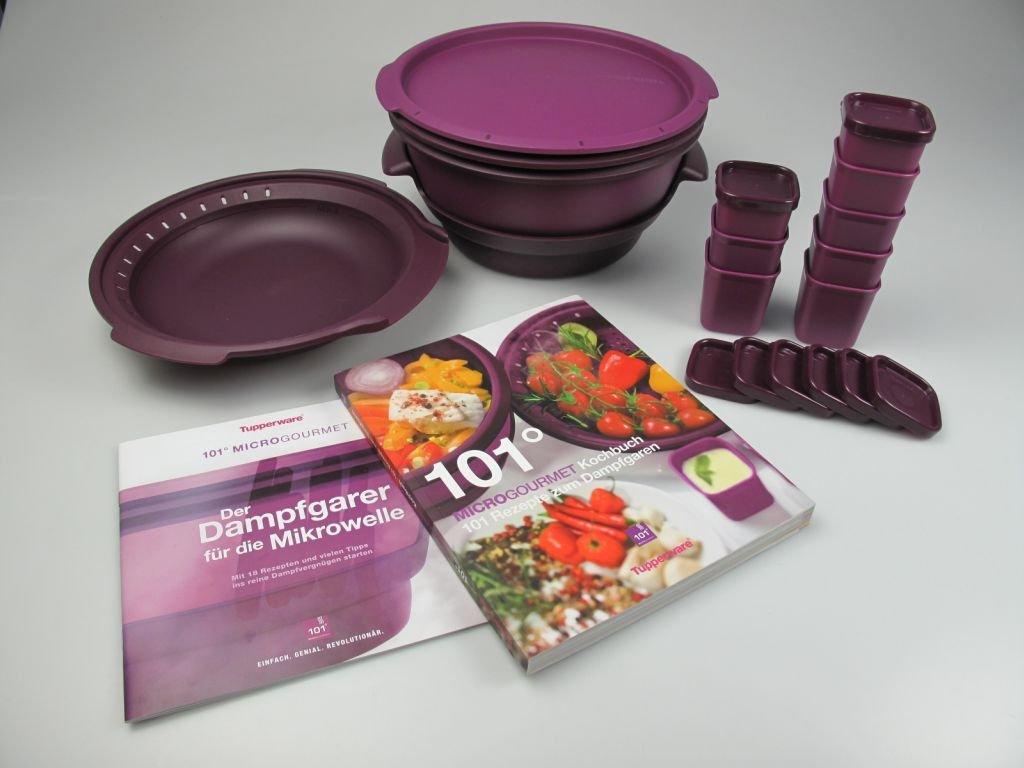 Tupperware Microondas Micro Gourmet Lila, Vapor, moldes (8 ...