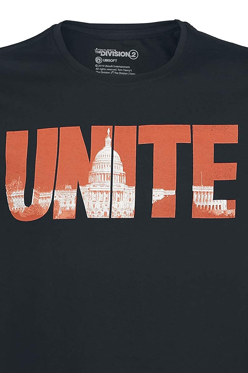 Tom Clancys The Division Unite T-Shirt Nero M