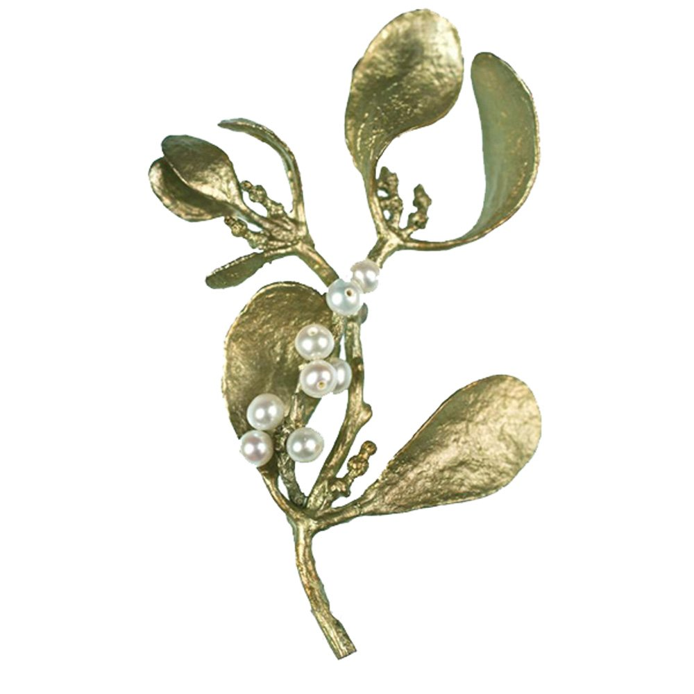 Michael Michaud Mistletoe Pin 5609