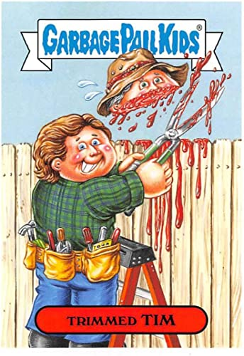 Amazon.com: 2019 Topps Garbage Pail Kids We Hate the '90s TV Stickers A #4  TRIMMED TIM Peelable Collectible Trading Sticker Card (Home Improvement):  Entertainment Collectibles