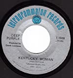 Kentucky Woman/Hard Road (VG 45 rpm)