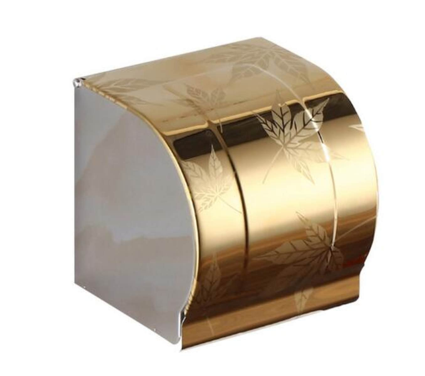 Baño Espesar Papel De Acero Inoxidable Toalla Rack Soporte De Papel En Rollo Impermeable,Goldleaf: Amazon.es: Hogar