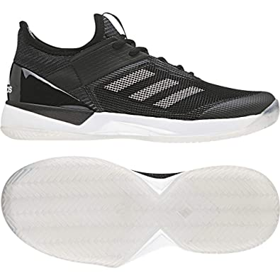 new concept 0cb44 9ba62 adidas Damen Adizero Ubersonic 3 Clay Tennisschuhe Schwarz FtwblaNegbas  000, 36 EU