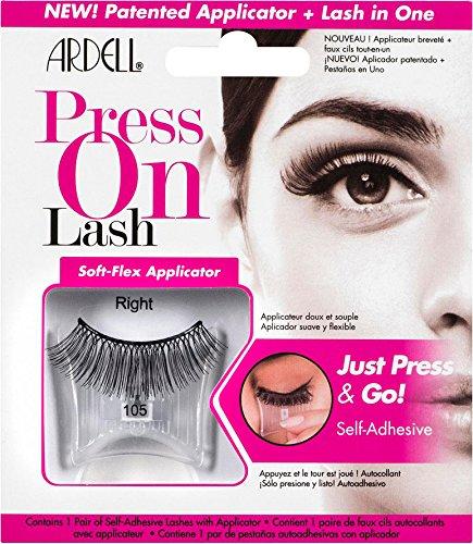 Ardell Self-Adhesive Press On Lash - 105 Black