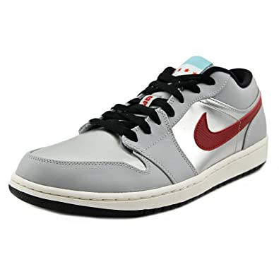great deals 2017 authentic quality performance sportswear Amazon.com | Air Jordan 1 Low City Pack Chicago Wolf Grey ...