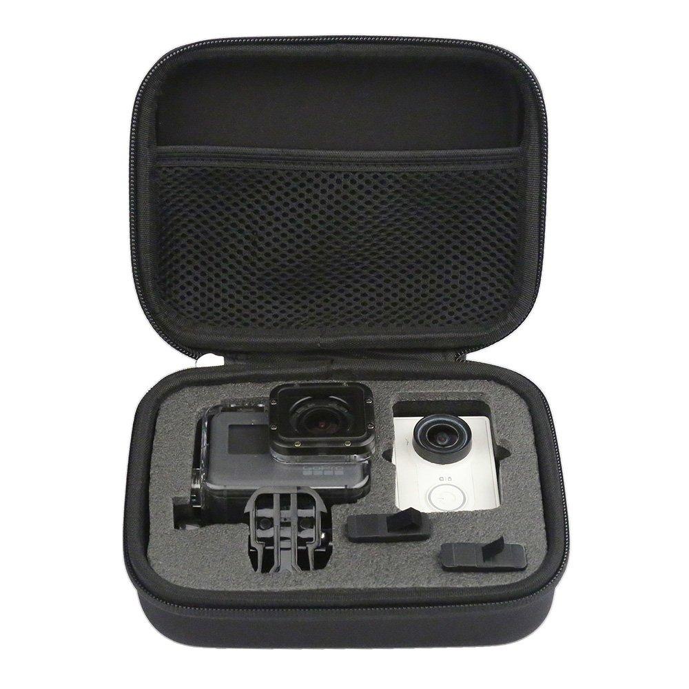 TELESIN - Bolsa de transporte protectora para GoPro HD Hero 6,5,4, 3+, 3, 2 y 1, tamaño pequeño, color negro tamaño pequeño GP-PRC-205