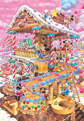 Home D-1000-421 of the funniest funny Disney 1000 Piece (japan import) by -