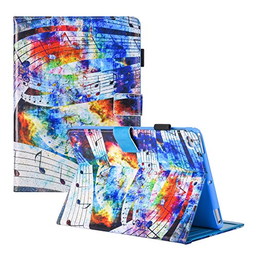 iPad Case, iPad 2/3/4 Case, Dteck Multi-Angle Viewing Folio Protective Cover with Auto Sleep Wake Smart Protective Wallet Cover for Apple iPad 2, iPad 3 & iPad 4th Generation, Starry Music (Ipad Case Generation Music 4th)