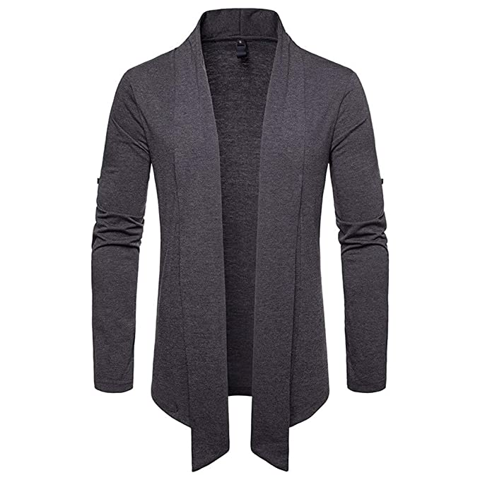 FRAUIT Jacke Hoodie Mantel Herren Sunday Herren Herbst Winter Pullover  Strickjacke Strick Cool Mantel Mode Lange Sweatshirt 100% Baumwolle S-2XL   Amazon.de  ... b0a9e768e9