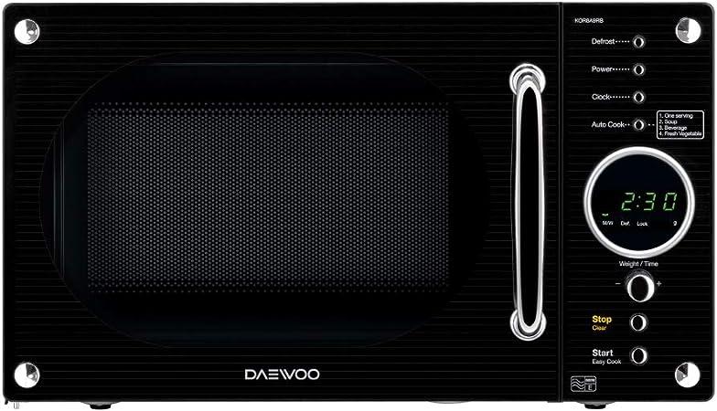 Daewoo KOR8A9RB Encimera Solo - Microondas (Encimera, Solo ...