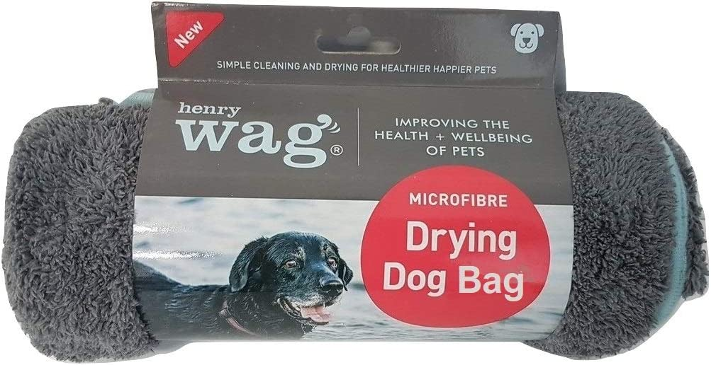 Henry Wag Microfibre Dog M Drying Low price Max 54% OFF Bag