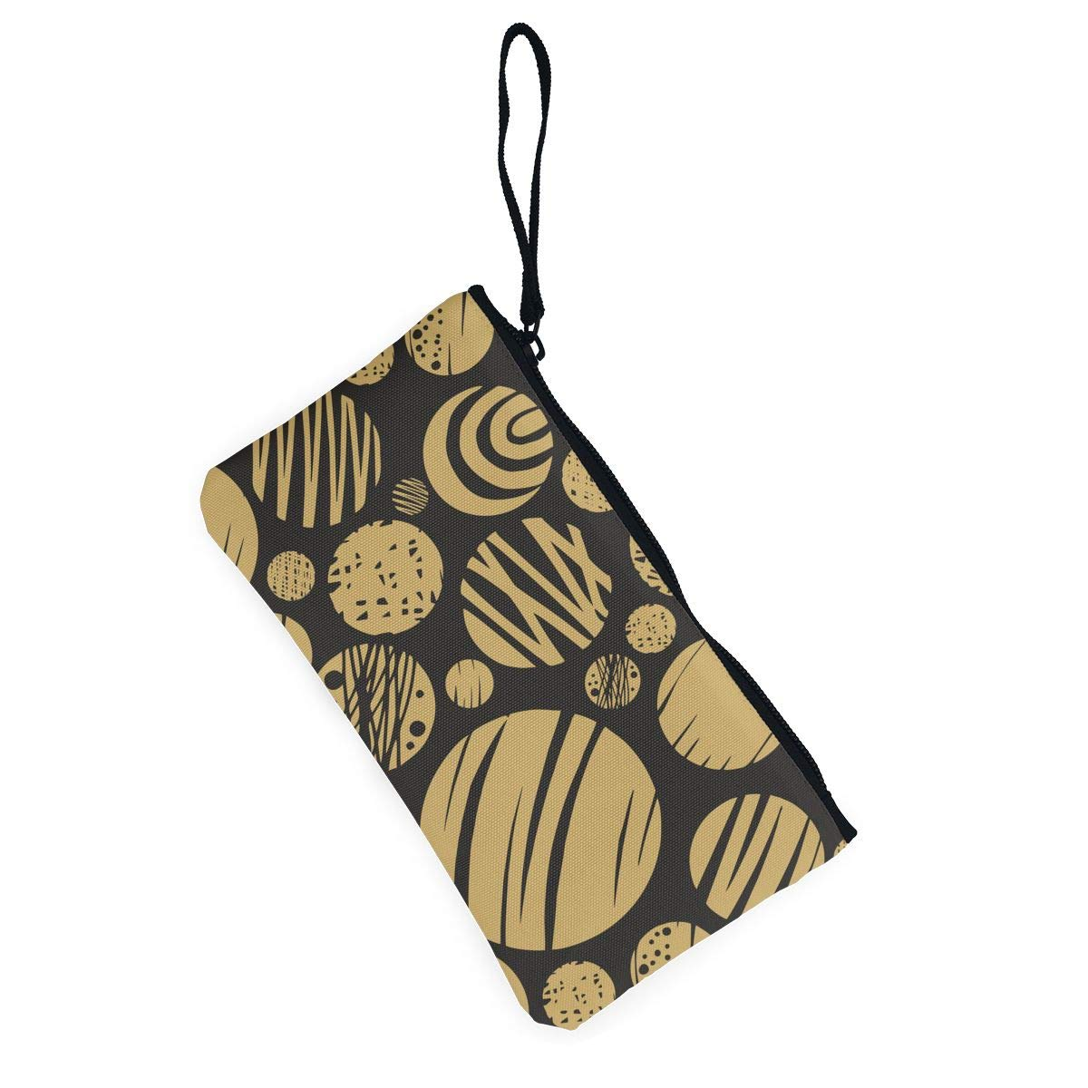 Chocolate Biscuits Women Mini Canvas Coin Purse Fashion Card Holder Wallet