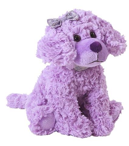 The Petting Zoo Posh Plush Purple Scruffy Dog - 11 Inches
