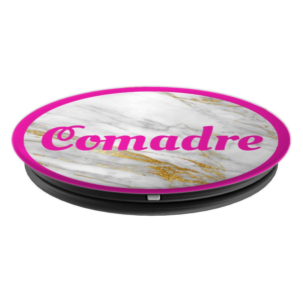Amazon.com: Comadre Phone Grip Latina Gift Spanish Gold Marble GodMom - PopSockets Grip and Stand for Phones and Tablets: Cell Phones & Accessories