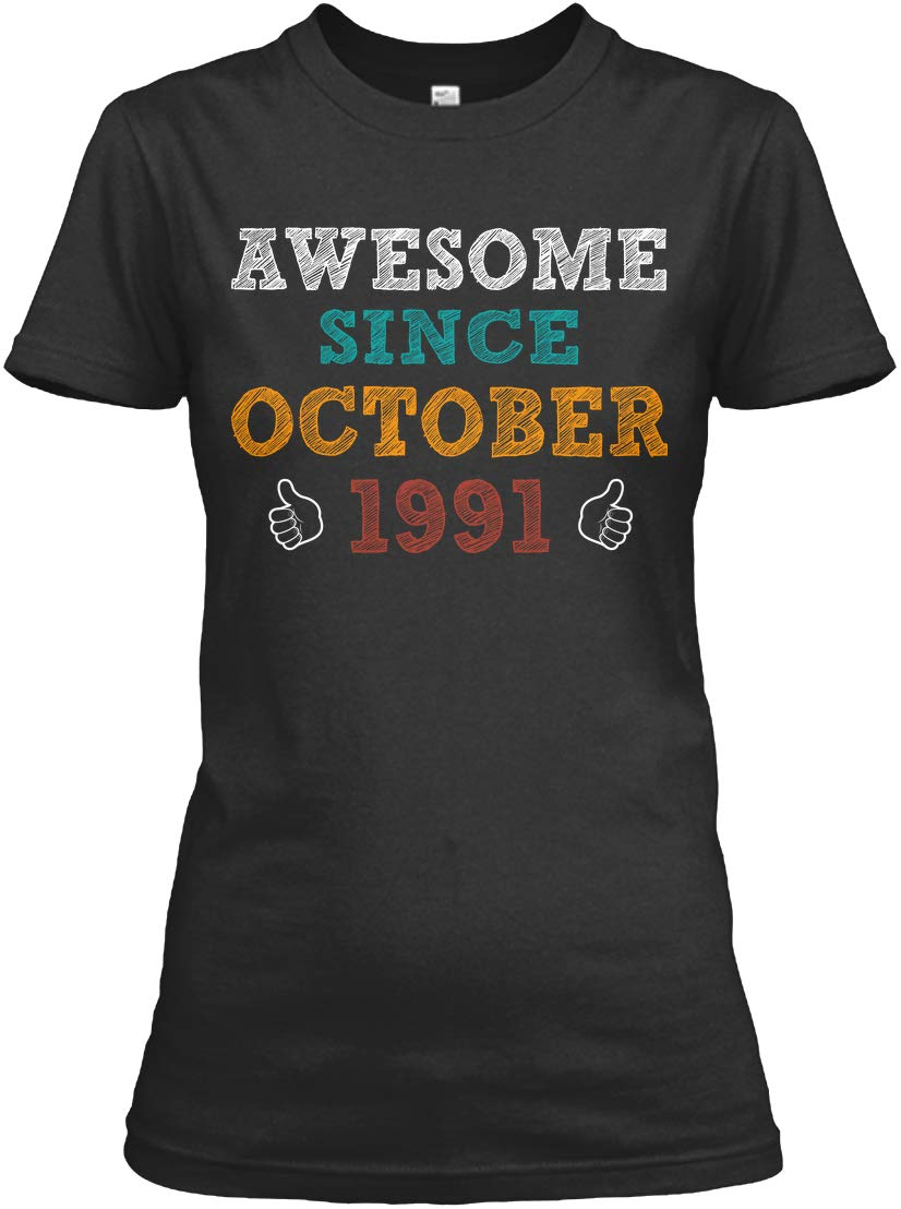Awesome Since October 1991 Tshirt Relaxed Tee