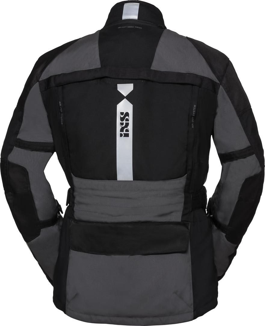 Tour Jacket Montevideo-St Grey-Black M