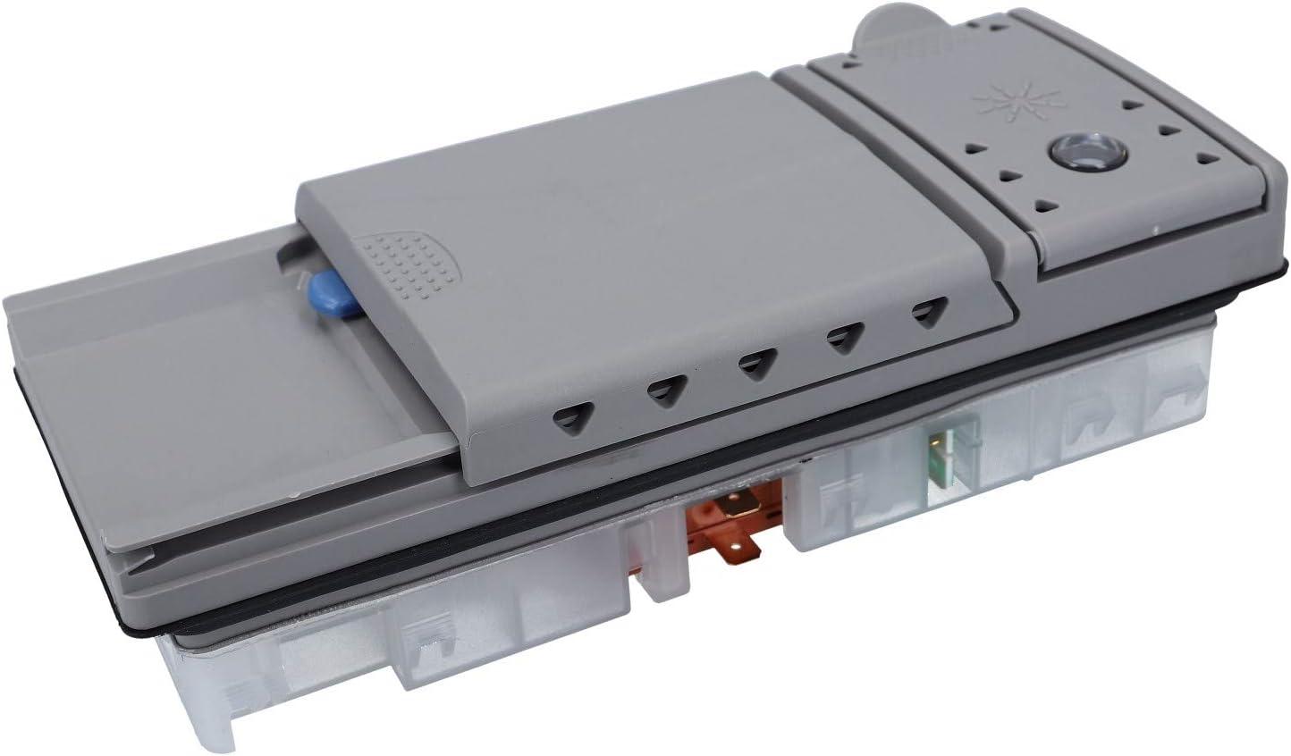 DL-pro Dosierkombination adecuado para Bosch Siemens Neff Constructa Gaggenau Balay 490467 00490467 - Unidad dosificadora para pastillas en polvo abrillantador lavavajillas