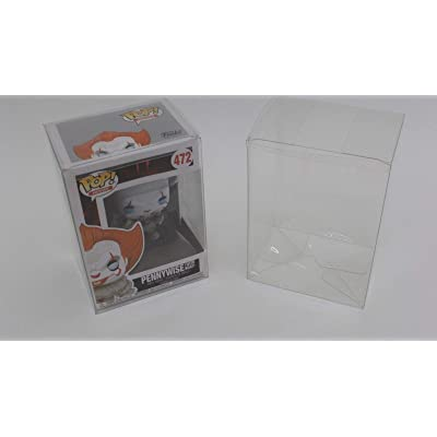 Funko Pop Acid-Free Plastic Protector Case Lot of 100: Toys & Games