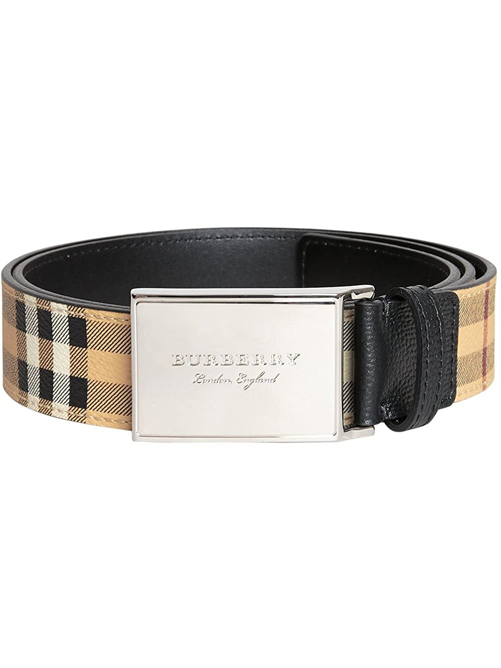 BURBERRY バーバリー Haymarke Check belt 4062509 ベルト【並行輸入品】 B07F36F5ZJ 100