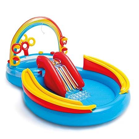 vidaXL Intex 57453NP Rainbow Ring Play Center - Piscina ...