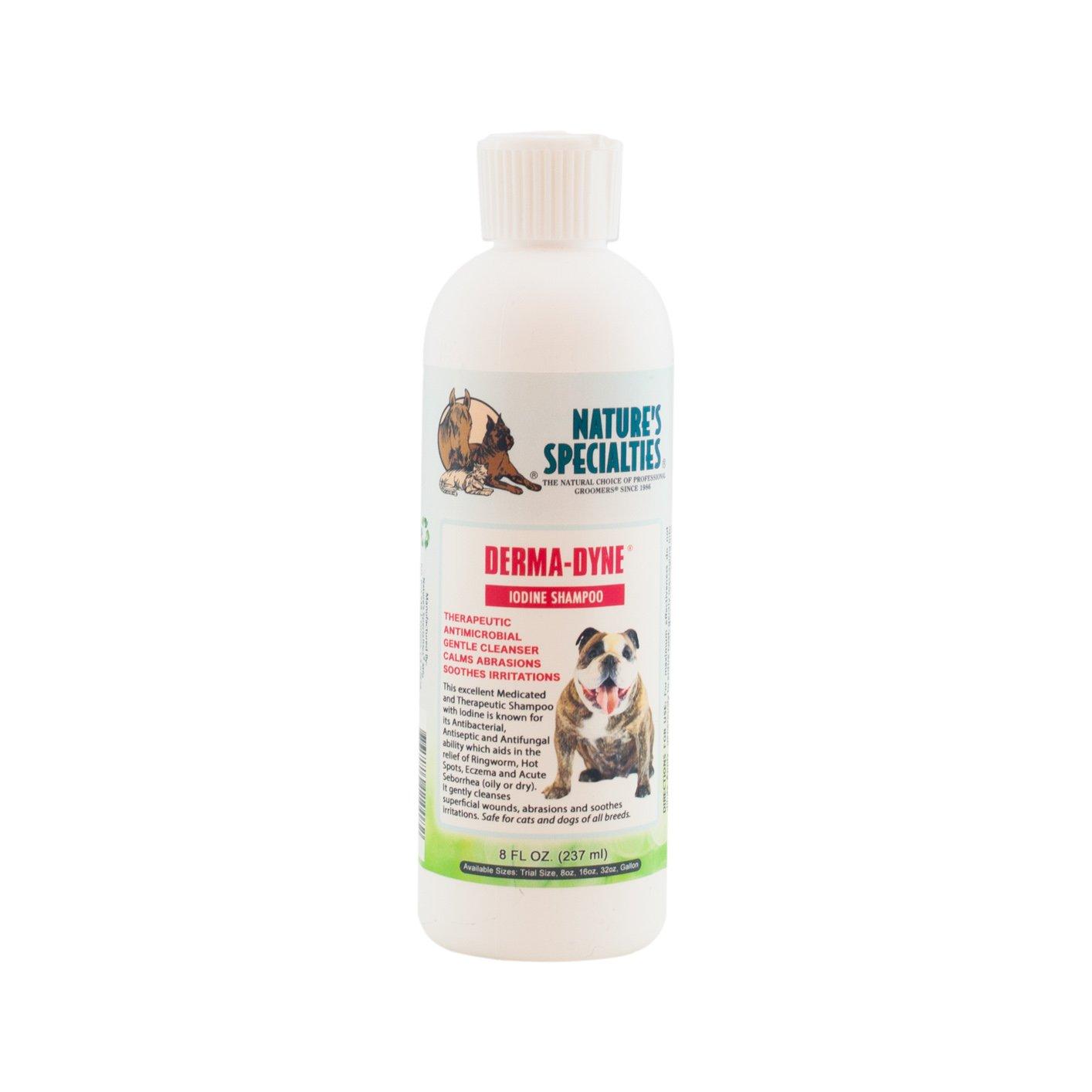 Nature's Specialties Derma-Dyne Pet Shampoo, 8-Ounce