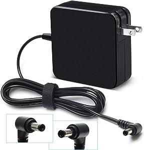 19V 3.42A 65W AC Adapter Charger for ASUS X401 X401A X401U X501 X501A X502CA X550 X550C X550CA ADP-65BW B/ADP-65AW A/ADP-65DW B/ADP-45BW Supply Cord