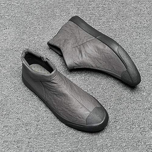 Casual High Chaussures Ff Help Gris Générique Hommes Pour Shoes 1PxBZAwwtq