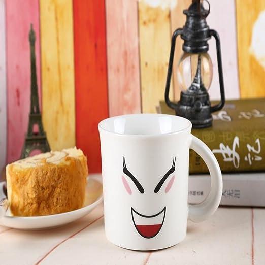 Kaxima Desayuno taza de café taza taza par la copela con máscara ...