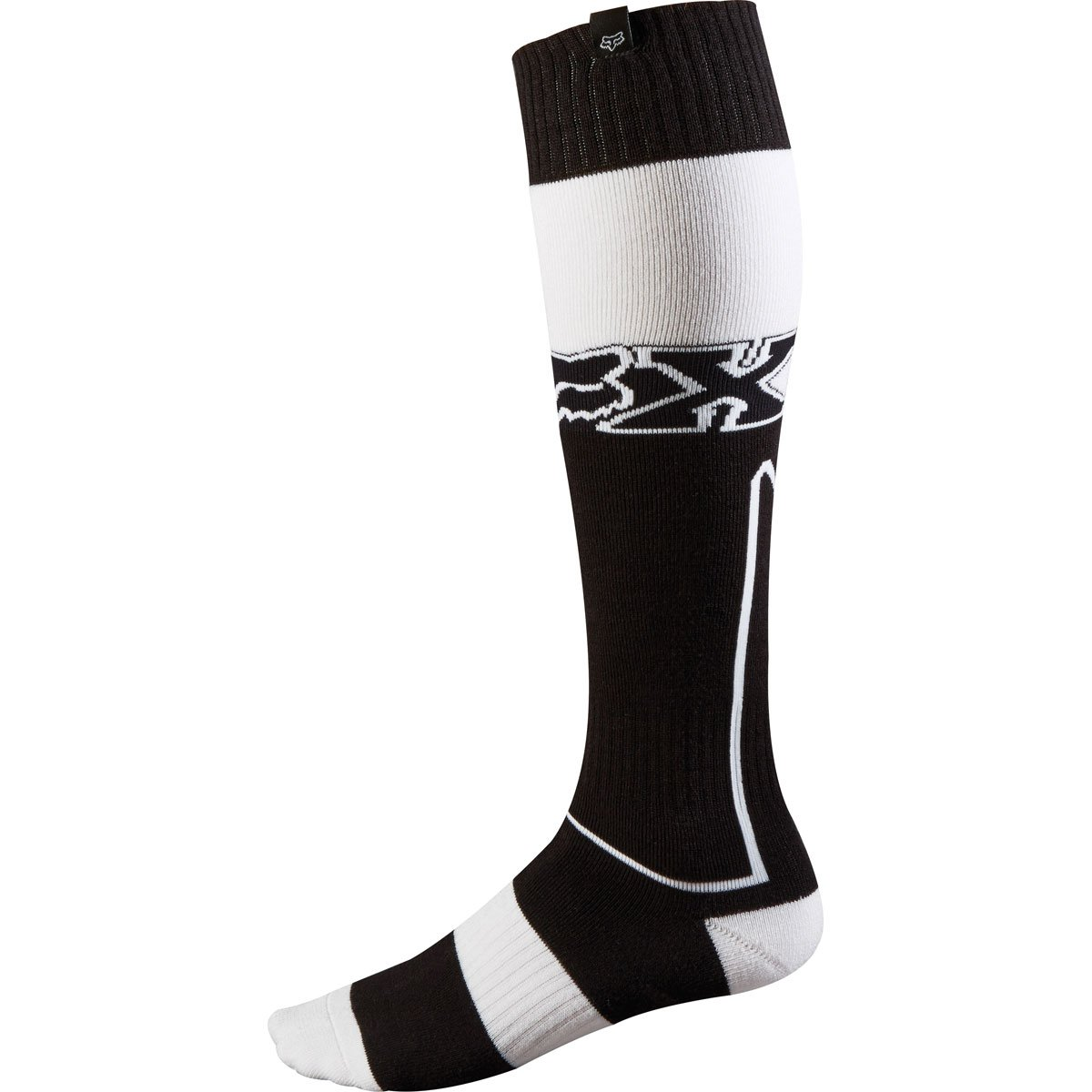 Fox Racing Fri Imperial Thick Men's MX Motorcycle Socks - Black/White/Small