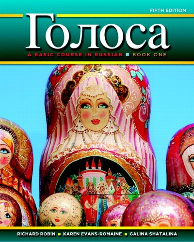 205741355 - 1: Golosa: A Basic Course in Russian, Book One (5th Edition)