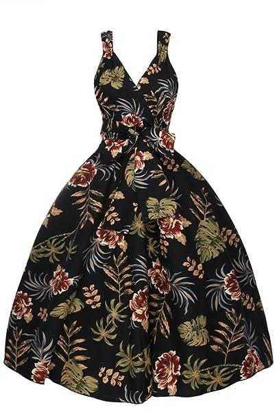 Looking Glam - Vestido - para mujer negro 38
